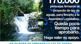 Poder Ejecutivo intenta burlar iniciativa popular por el agua