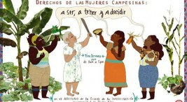 Foro Derechos de las Mujeres Campesinas- a ser, a tener y a decidir