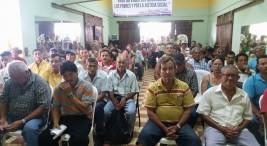 Movimiento de Trabajadores y Campesinos (MTC) en defensa de sus insumos