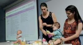 Esfuerzo lactancia materna llega a zonas rurales