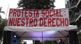 Tomado de la página de Facebook de Colectivo Derecho a la Protesta Social