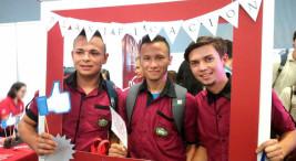 Feria de carreras acreditadas de la UNA1