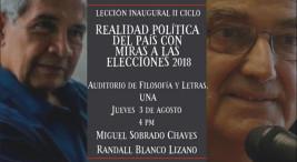 FEUNA promueve reflexion en torno a elecciones 2018