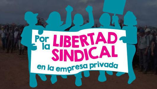 Lanzamiento Campana por la Libertad Sindical en la Empresa Privada2