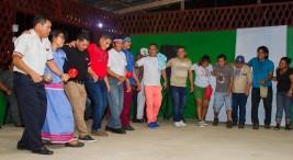 Comunidades originarias compartieron en Talamanca