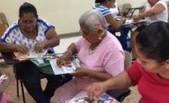 UNED Proyecto de alfabetizacion para adultos en Pavon