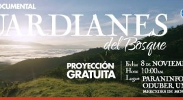 UNED estreno del documental Guardianes del Bosque