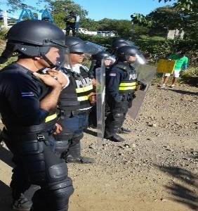 Comunicado agresion de la policia en Sardinal Guanacaste Costa Rica
