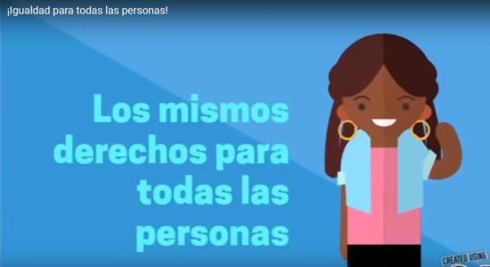Comite Patriotico de San Rafael de Heredia comparte video sobre igualdad