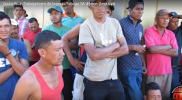 Reportaje internacional Trabajadores de Ingenio Taboga SA dijeron basta ya2