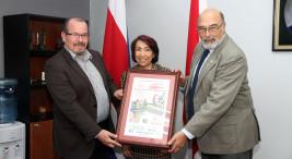 Billete de Loteria alusivo al 45 Aniversario de la UNA7