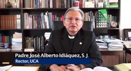 Jose Idiaquez rector UCA