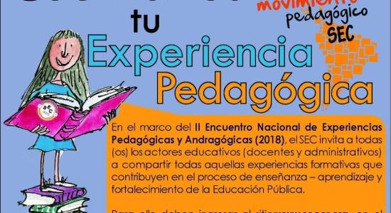 SEC Cuentanos tu experiencia pedagogica