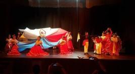 Imagen tomada del Facebook Proyección Folclorica Flor de Reseda