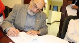 UNA CONARE y Gobierno firman acuerdo para el FEES 2019