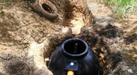 ADI de Rey Curre habilita caminos instala agua potable y construye servicios sanitarios