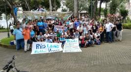 Distintas comunidades presentes contra mala gobernanza del agua10