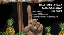 Teatro del Oprimido UNA en San Ramon Ni de aqui ni de alla
