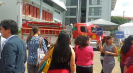 UNA ejecuto simulacro ante emergencias