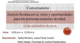 Conversatorio Justicia Restaurativa